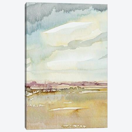 Desert Rain Canvas Print #LSM99} by Luisa Millicent Canvas Art Print