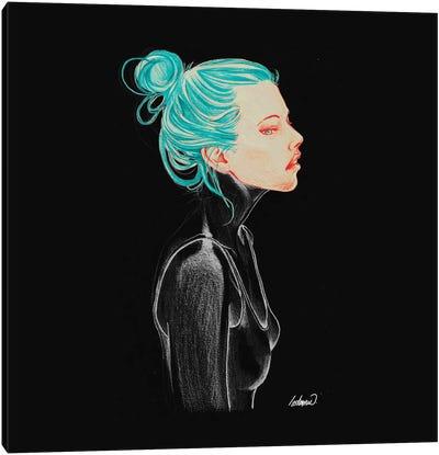 Dark Feelings Canvas Art Print