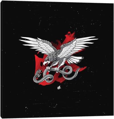 Eagle vs. Snake Canvas Art Print