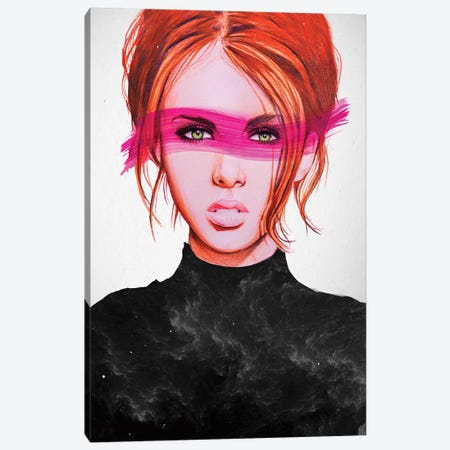 Eternal Gaze Canvas Print #LSN15} by Lostanaw Canvas Print