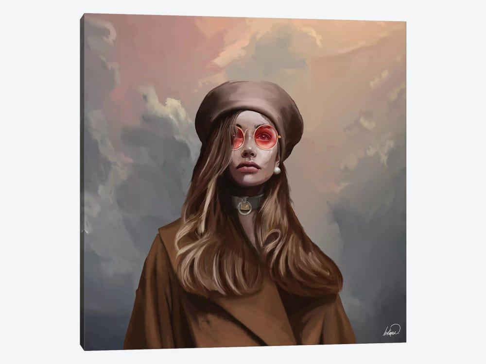 Fashion Blossom by Lostanaw 1-piece Canvas Print