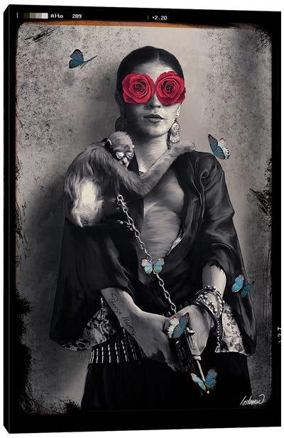 Frida Kahlo My Treasure Canvas Art Print