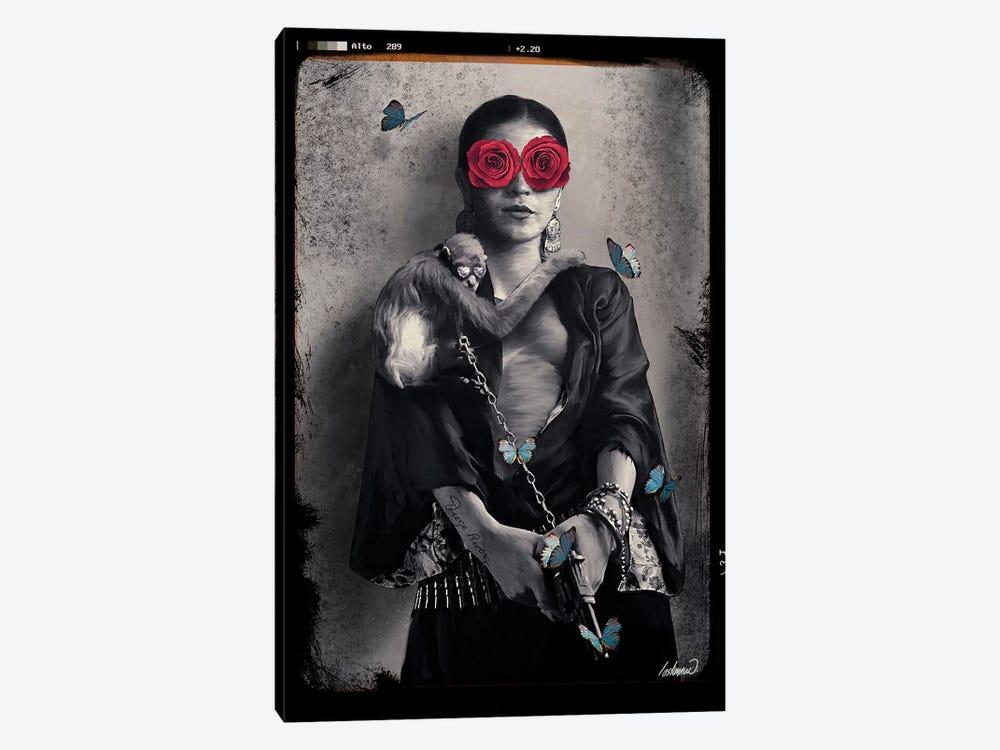 Frida Kahlo My Treasure by Lostanaw 1-piece Canvas Wall Art
