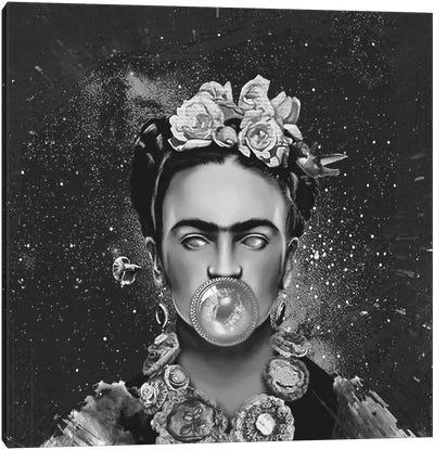 Frida Kalho Abstract Canvas Art Print