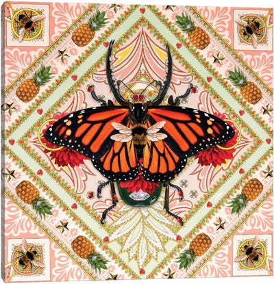 King Of Insects I Canvas Art Print