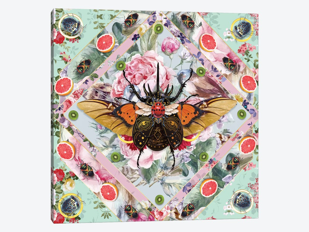 King Of Insects III by Lostanaw 1-piece Canvas Wall Art