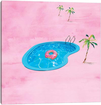 Sweet Summertime Canvas Art Print