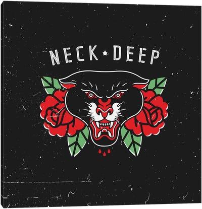 Neck Deep Canvas Art Print
