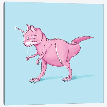 Caticorn Rex Canvas Print #LSN7} by Lostanaw Canvas Print
