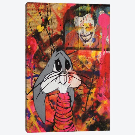 Oh Bugs!! Canvas Print #LSO12} by Sr. LaSso Canvas Art Print
