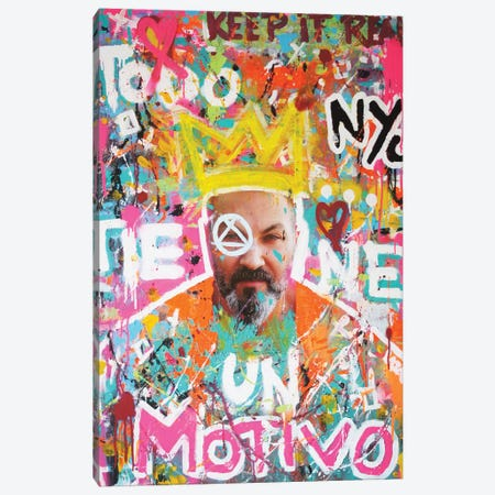 Todo Tiene Un Motivo  Canvas Print #LSO16} by Sr. LaSso Canvas Artwork