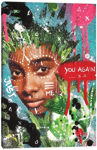 "You Again ""Queens Of The Concrete Jungle"" Canvas Art Print"