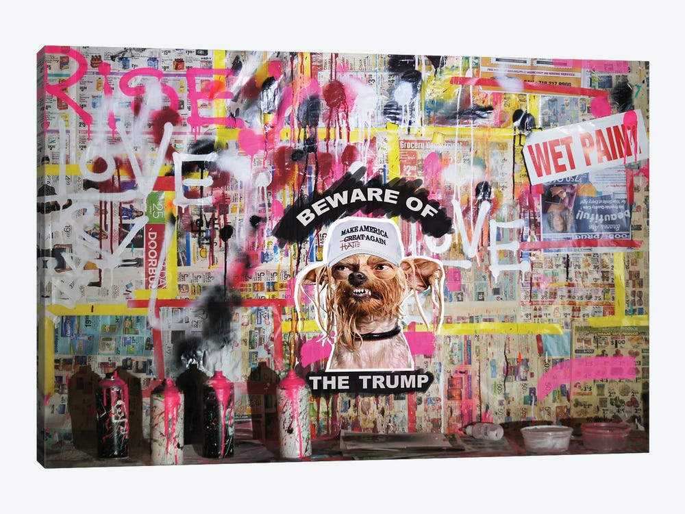 Beware Of The Trump by Sr. LaSso 1-piece Canvas Art Print