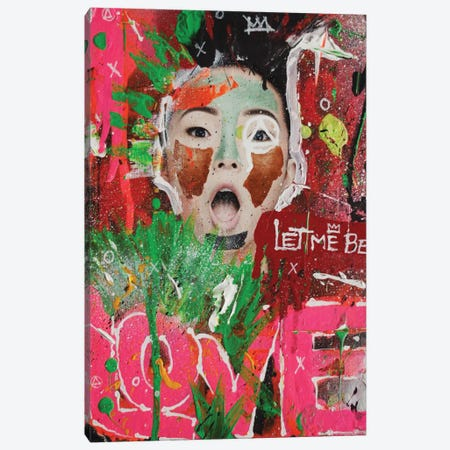 Let Me Be Love Canvas Print #LSO6} by Sr. LaSso Canvas Wall Art
