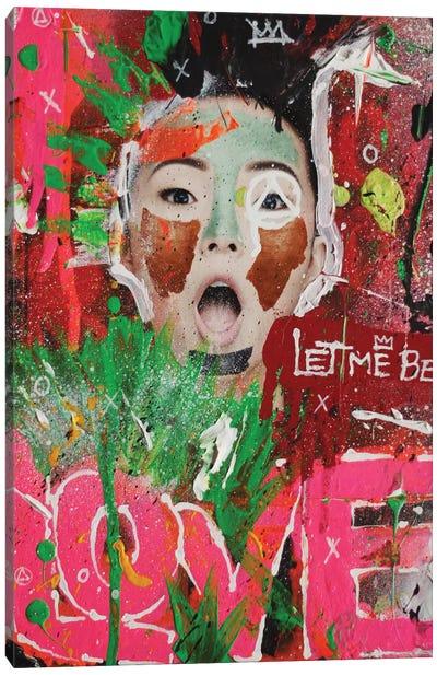 Let Me Be Love Canvas Art Print