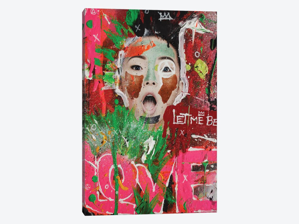 Let Me Be Love by Sr. LaSso 1-piece Canvas Wall Art