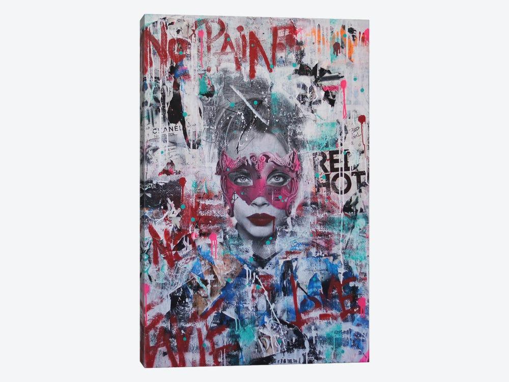 No Pain, No Fame (Cara) by Sr. LaSso 1-piece Art Print