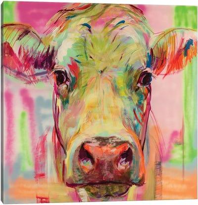Cow Portrait XIII Canvas Art Print