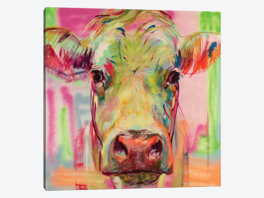 Cow Portrait XIII by Liesbeth Serlie 1-piece Canvas Artwork