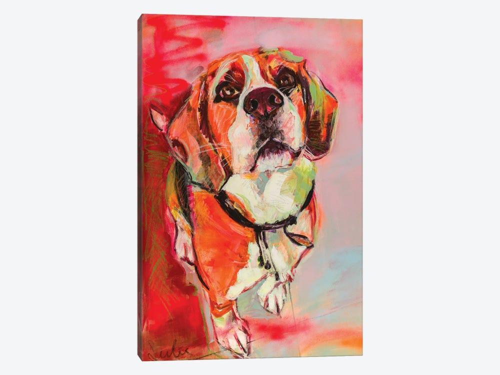 Beagle by Liesbeth Serlie 1-piece Canvas Art