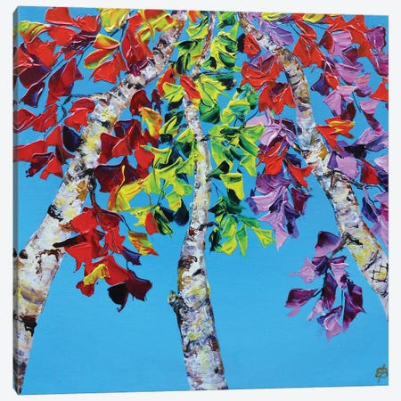 Fall Symphony I Canvas Print #LSV13} by Lena Smirnova Canvas Artwork