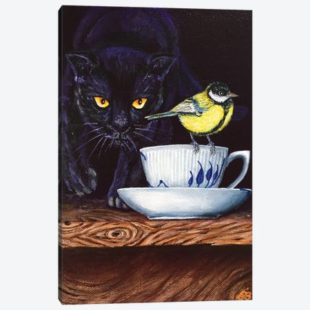 Tea For Two VII Canvas Print #LSV61} by Lena Smirnova Canvas Print