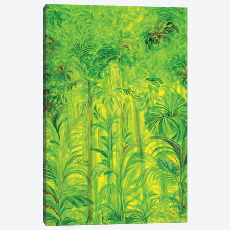Rain Forest II, Malaysia, 1990 Canvas Print #LSW10} by Laila Shawa Canvas Art Print