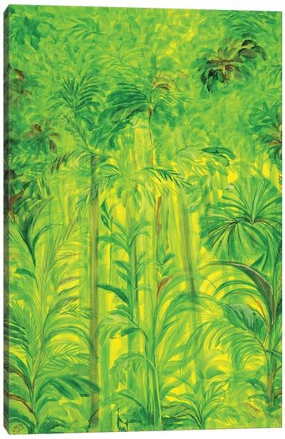 Rain Forest II, Malaysia, 1990 Canvas Art Print