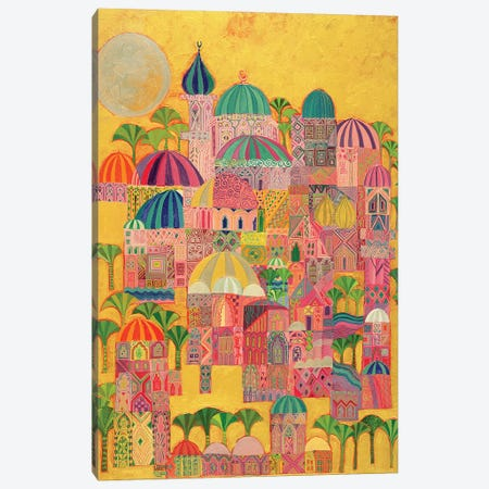 The Golden City, 1993-94 Canvas Print #LSW12} by Laila Shawa Canvas Art Print
