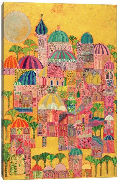 The Golden City, 1993-94 Canvas Art Print
