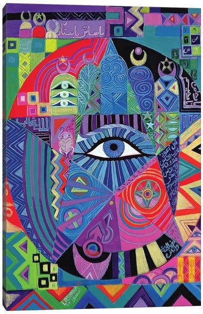 Eye Of Destiny, 1992 Canvas Art Print