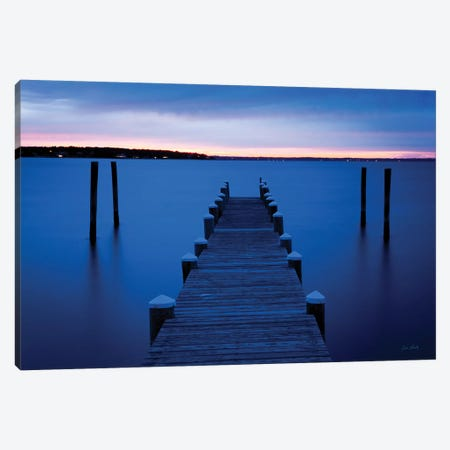 East Chop Dock Canvas Print #LSY1} by Jim Lindsky Canvas Art