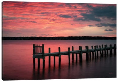 East Chop Sunset Canvas Art Print