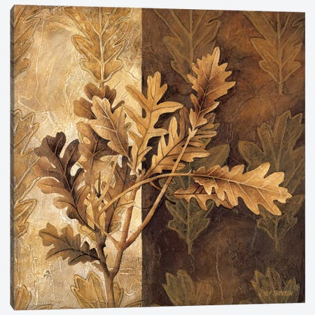 Leaf Patterns I Canvas Print #LTH21} by Linda Thompson Canvas Wall Art