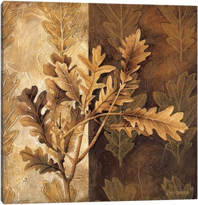 Leaf Patterns I Canvas Art Print