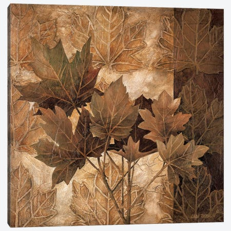 Leaf Patterns II Canvas Print #LTH22} by Linda Thompson Canvas Artwork