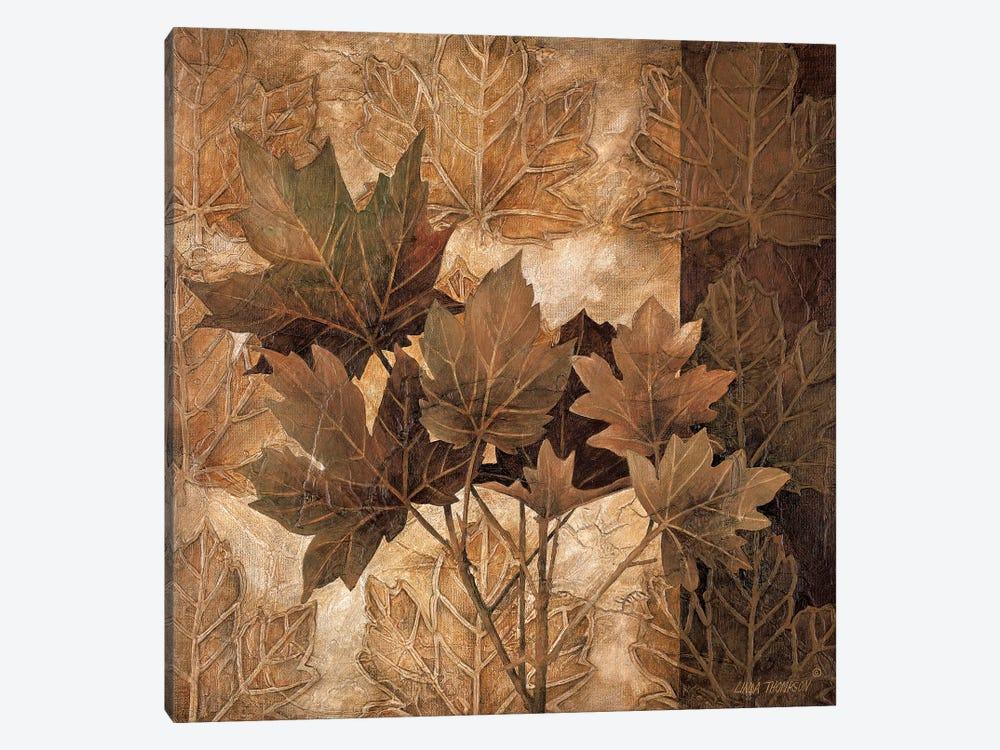 Leaf Patterns II by Linda Thompson 1-piece Canvas Print