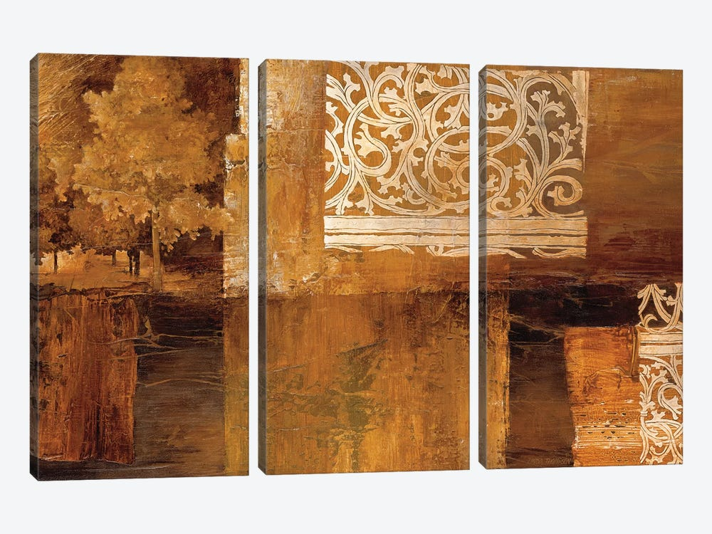 Nature's Boundaries I by Linda Thompson 3-piece Canvas Artwork