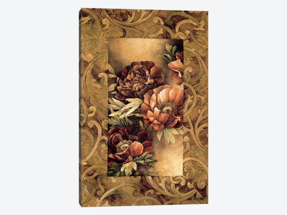 Poppies II by Linda Thompson 1-piece Canvas Artwork
