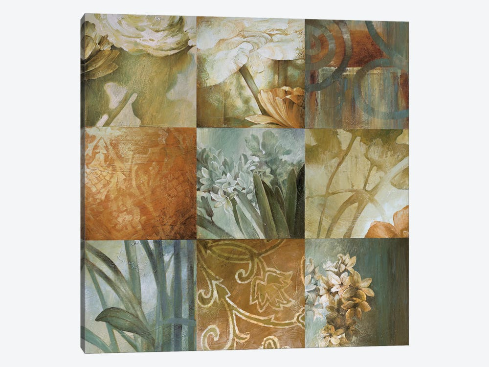 Square Choices by Linda Thompson 1-piece Art Print