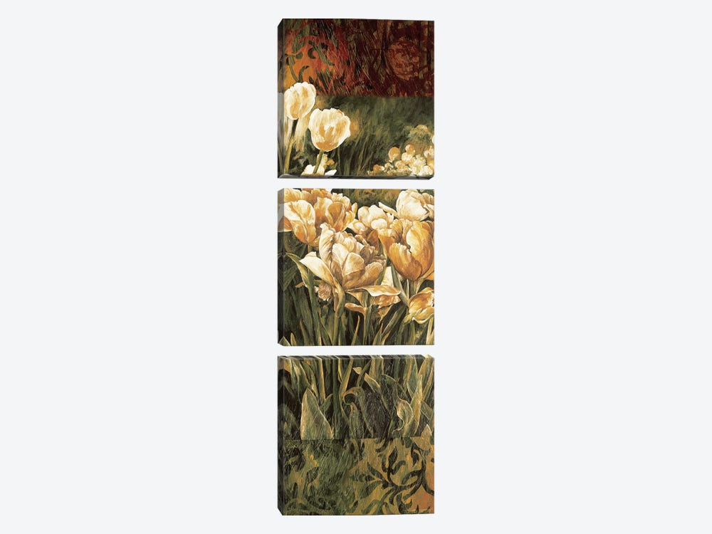 Summer Garden I by Linda Thompson 3-piece Art Print