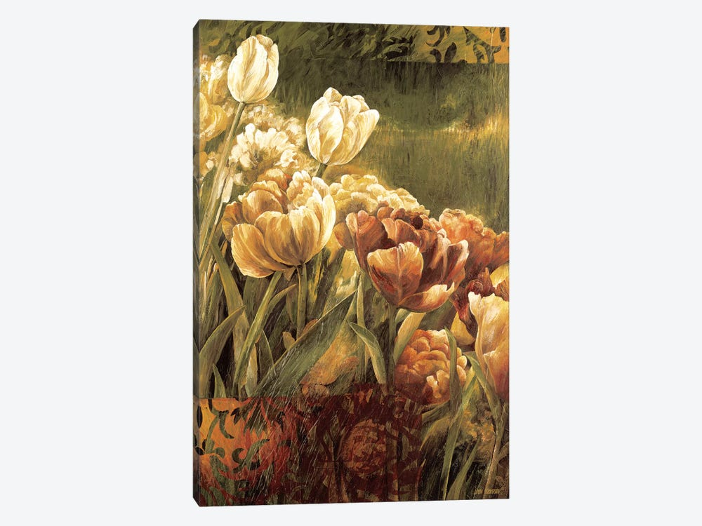 Summer Garden II by Linda Thompson 1-piece Canvas Artwork