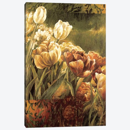 Summer Garden II Canvas Print #LTH41} by Linda Thompson Canvas Wall Art