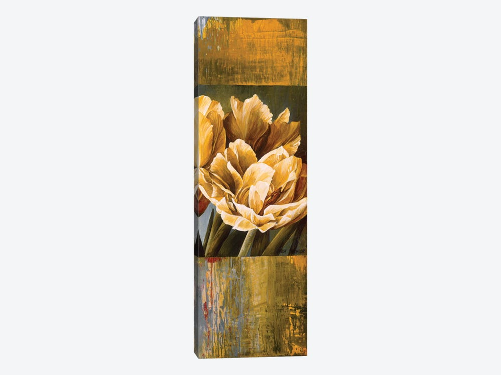 Floral Radiance II by Linda Thompson 1-piece Canvas Print
