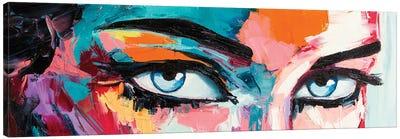 Pop Color Eyes I Canvas Art Print