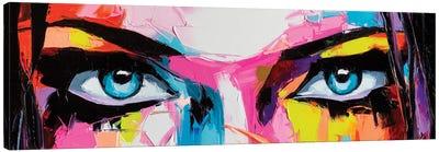Pop Color Eyes II Canvas Art Print