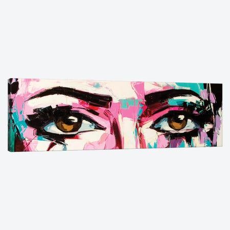Pop Color Eyes III Canvas Print #LTK3} by Lana Tikhonova Canvas Artwork