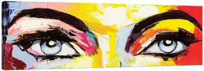 Pop Color Eyes IV Canvas Art Print