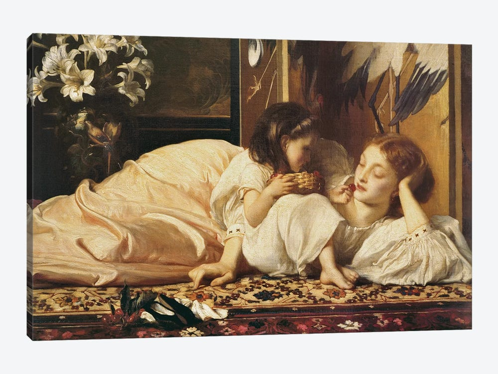 Mother And Child by Frederick Leighton 1-piece Canvas Artwork