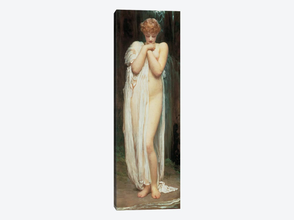 Crenaia, The Nymph Of The Dargle by Frederic Leighton 1-piece Canvas Print
